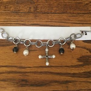 Jewelry - Silver and gold tone charm bracelet